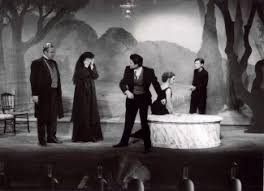 A scene from Six characters directed by Bergman